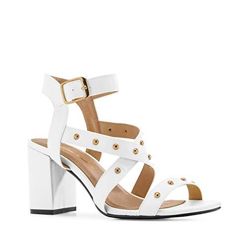 Coloris Machado Blanc Différents Grandes 45 42 Pointures Et En Clous sandales À petites Soft 35 am5380 Femme pour 32 Andres 1d8wqAA