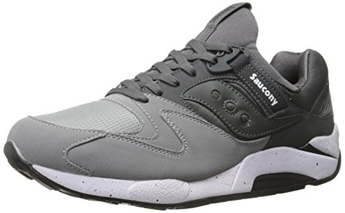 Saucony Originals Men's Grid 9000 Sneaker,Grey/Charcoal,10 M US