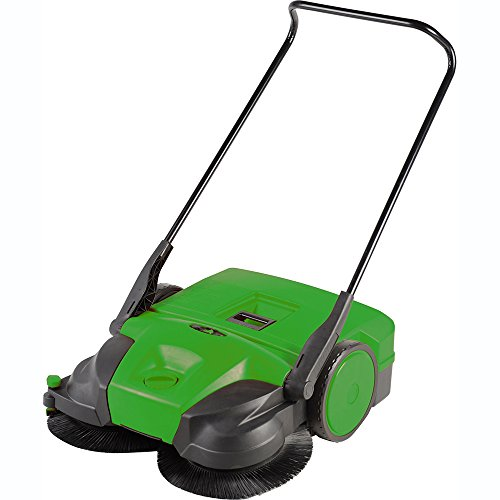 "Bissell 31"" Battery Powered Triple Brush Push Power Sweeper, 13.2 Gal. Capacity"