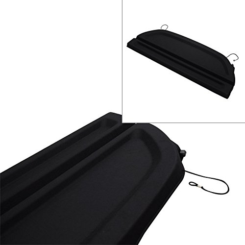 e Cargo Cover Rear Trunk Security Blind 12-14 Honda Fit Jazz ()