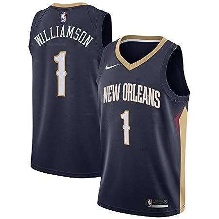 Lalagofe Mens/_New/_Orleans/_Pelicans/_Zion/_Williamson/_Navy/_Swingman/_Jersey