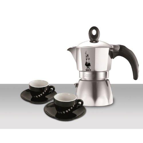 Bialetti-Juego de 0005180-Cafetera italiana 3 tazas de café ...