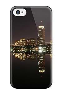New Style Unique Design Iphone 4/4s Durable Tpu Case Cover Boston City