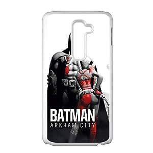 Batman Batman LG G2 Cell Phone Case White Protect your phone BVS_645588