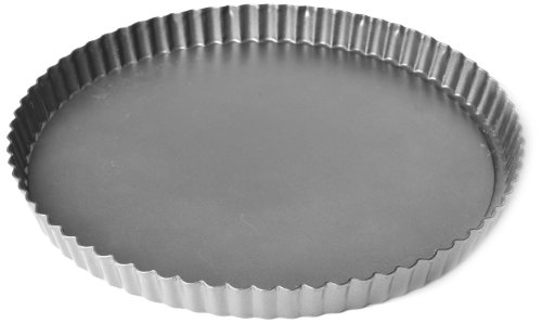 Chloe's Kitchen 203-162 10-Inch Round Quiche Removable Bottom