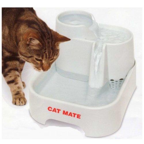 Fuente Cat MATE bebedero fuente de agua: Amazon.es: Hogar