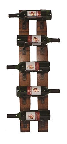 2 Day Designs 5-Bottle Wall Rack by 2-Day Designs