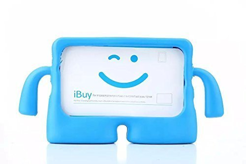 Galaxy Tab 3 Lite Case 7.0 Inch Tablet Case MUZE Protective Rubberize EVA Foam Childproof Shockproof Cover Case Durable Light Weight Cute Cartoon Kid