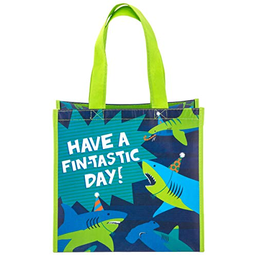 Stephen Joseph Boys Recycled Gift Bags, Shark, No No Size ()