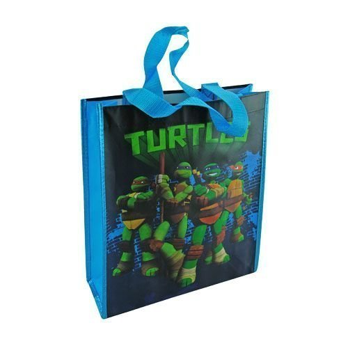 [Teenage Mutant Ninja Turtles Medium Party Favor Tote Bag] (Nickelodeon Teenage Mutant Ninja Turtles Treat Bags)