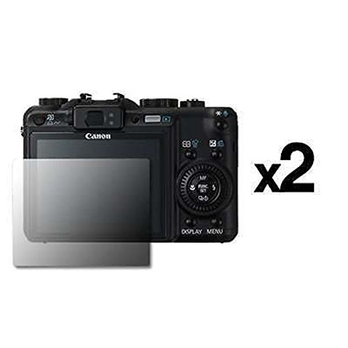 2 Pack of Universal 2.5 inch LCD Screen Protectors [Accessory Export ()