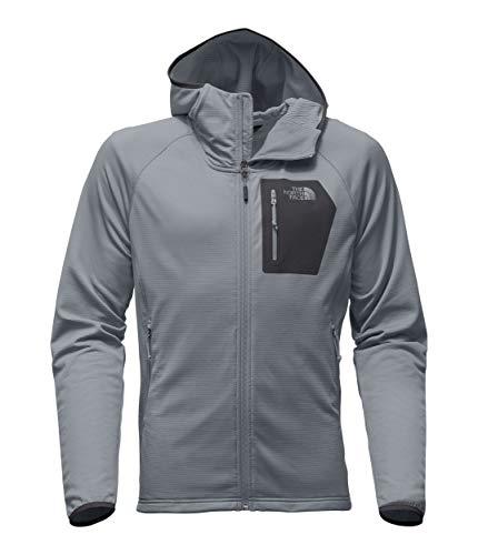 The North Face Men's Borod Hoodie, Mid Grey/Asphalt Grey, Size XL (Face Mens Hoodie)