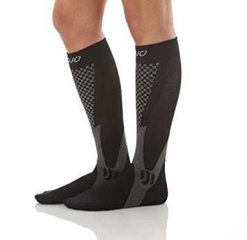 002a59f6b2 Image Unavailable. Image not available for. Color: MoJo Recovery & Performance  Sports Compression Socks ...