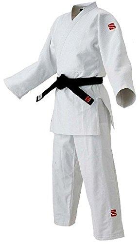 九桜 柔道 国内国際選手用 新IJF規格認定柔道衣 上衣のみ F体 2F JOFC2F ホワイト B00TXOAT2S