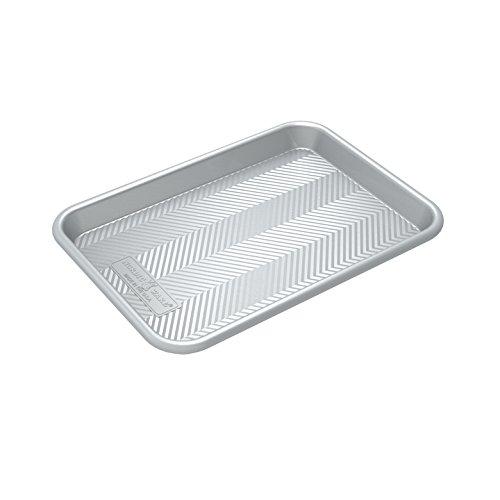 Nordic Ware 45370 Prism Quarter Sheet, Metallic