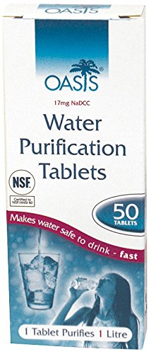 BCB CR210 Oasis Water Purification Tablets Pack of 100