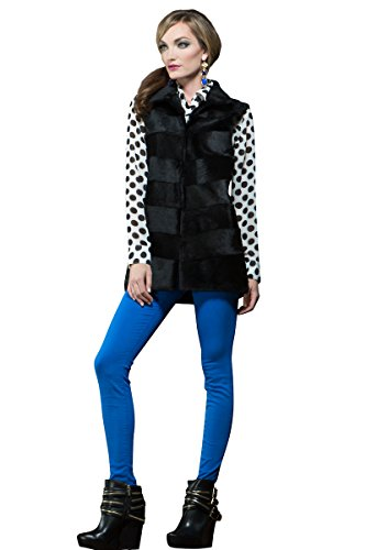 adrienne-landau-womens-black-laser-cut-rabbit-fur-vest