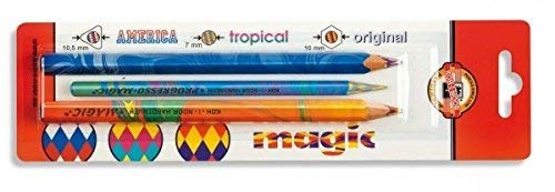 Koh-I-Noor Magic Pencils Set of 3