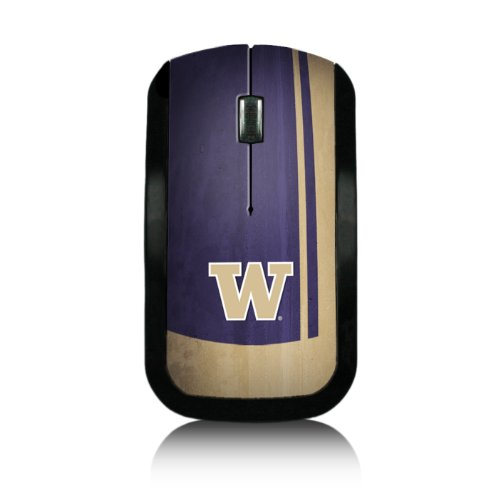Washington Huskies Wireless USB Mouse officially licensed by the University of Washington Slim Sleek Low-Profile Portable by keyscaper®