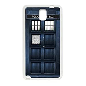 Blue police box Cell Phone Case for Samsung Galaxy Note3 by Maris's Diary