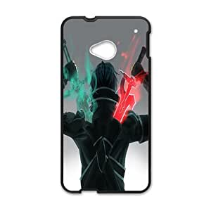 Green and red sword warrior Cell Phone Case for HTC One M7