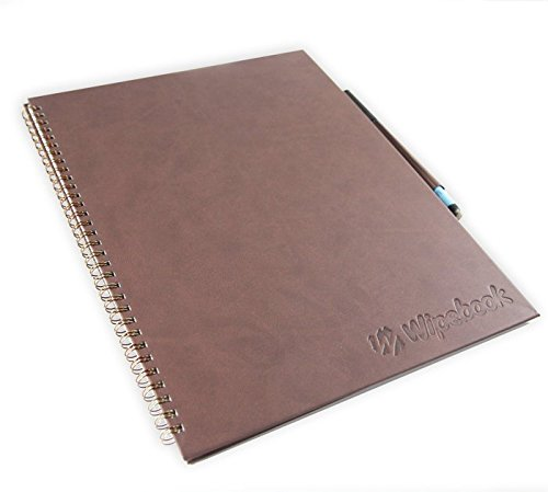 Wipebook Pro (Dry Erase Notebook - Ruled) by Wipebook