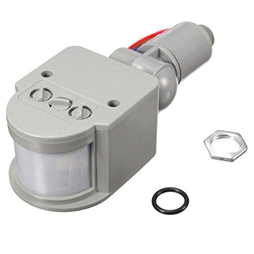 LED 110V-240V Infrared PIR motion sensor light switch motion sensor light Motion Sensor Detector Wall Light Switch 140Degree 12M