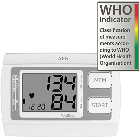 Tensiomètre AEG BMG 5611 avec indicateur au bras