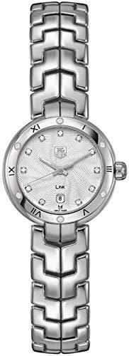 Tag Heuer Link Silver Diamond Dial Women's Watch WAT1413.BA0954