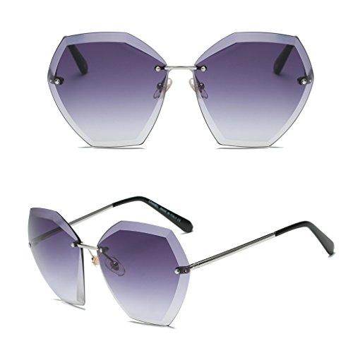 Clubmaster Classic Square Sunglasses Silver Flash Lense - 9