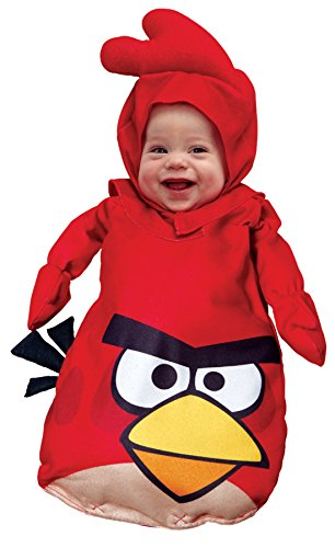 UHC Baby's Rovio Angry Bird Red Outfit Infant Fancy Dress Halloween Costume, OS (0-9M) -