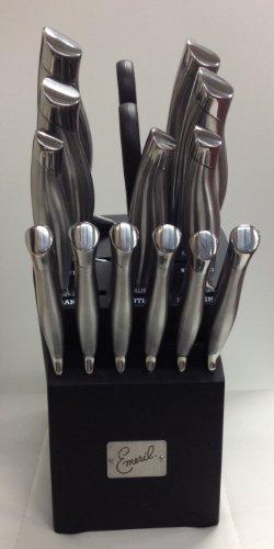 Best Emeril Cutlery 15 piece Block Knife Set (online)