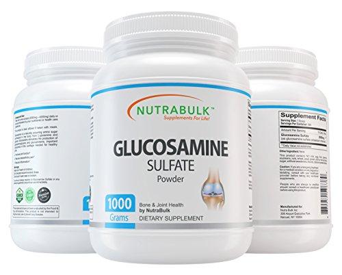 NutraBulk Glucosamine Sulfate Powder - 1 Kilogram ()