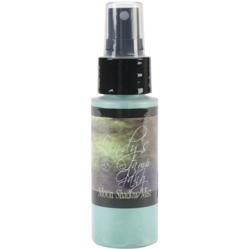 Lindy's Stamp Gang Moon Shadow Mist Spray Paint, 2-Ounce Bottle, Ethereal Emerald