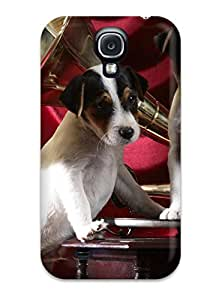 New Style 2085168K23713364 Case Cover Galaxy S4 Protective Case Gramophone Pups