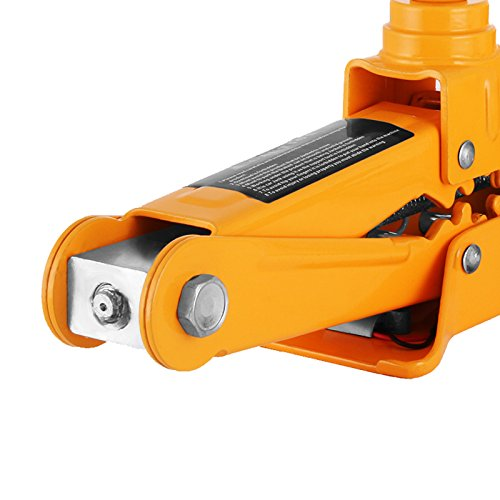 Bestauto 2.5 Ton Electric Car Jack 12V Scissor Lift Jacks Electric 5500LBS Jack Lifting Car With Impact Wrench And Inflator Pump by Bestauto (Image #7)