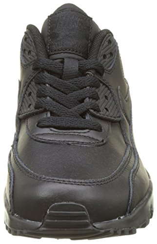 Kid's Nike 9 Leather Black Shoe Kids Air Big Black GS Max gdOdTq