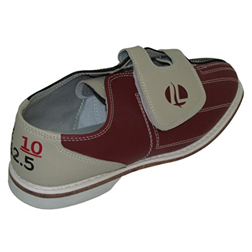 Linds Mens CRS Rental Bowling Shoes- Hook and Loop (10 M US, Red/Blue)