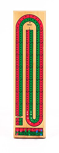 Cribbage board template track style woodworking kit 1 4 for Cribbage board drilling templates