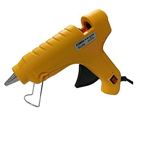 Heirloom Quality Oz Hot Glue Gun 40W - Heavy Duty With 3 Free Glue Sticks - Built-In Metal Stand And Off/On Switch by Heirloom Quality