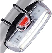 Bike Front Safety Light USB Rechargeable by Apace - Powerful LED Bicycle Headlight Illuma ZT3000X Pro200 Brigh