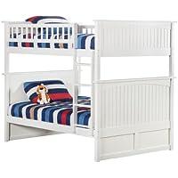Nantucket Bunk Bed, Full Over Full, White