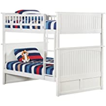 Nantucket Bunk Bed, Full Over Full, White