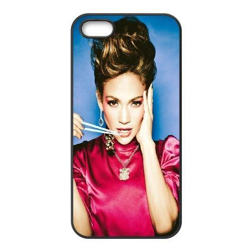 Jennifer Lopez Singer Actress Photoshoot coque iPhone 5 5S cellulaire cas coque de téléphone cas téléphone cellulaire noir couvercle EOKXLLNCD24752