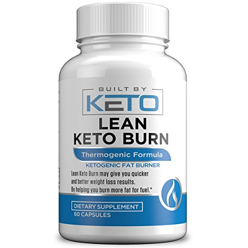 Lean Keto Burn - Advanced Keto Weight Loss Supplement - Ketogenic Fat Burner - Supports Healthy Weight Loss - Burn Fat Instead of Carbs - 30 Day Supply - 60 Thermogenic Diet Pills by Built By Keto