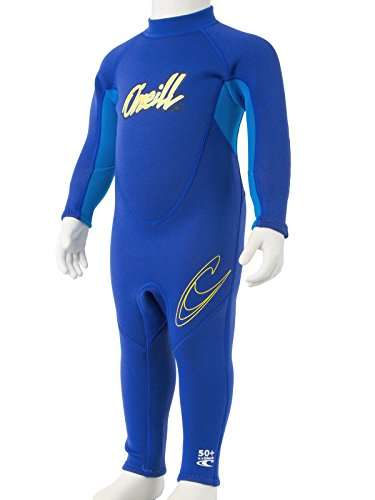 O'Neill Reactor toddler full wetsuit 1 Pacific/brite blue/yellow (4629B) (Pacific Wetsuit)