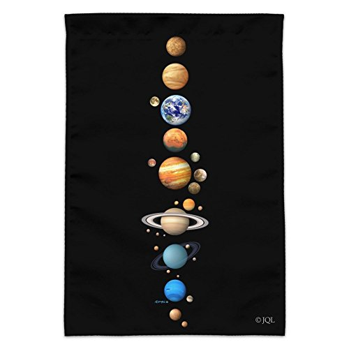 Venus Solar System - Graphics and More Solar System Planet Order Mercury Venus Earth Mars Jupiter Saturn Garden Yard Flag (Pole Not Included)