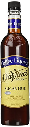 DaVinci SUGAR FREE Coffee Liqueur Syrup 750ml
