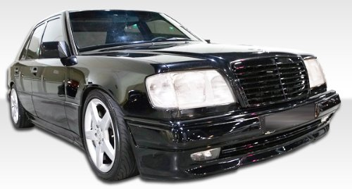 1986-1995 Mercedes Benz E-Class 4DR W124 Duraflex C36 Look Kit - Includes C36 Look Front Bumper (105064), C36 Look Rear Bumper (105065), and AMG Style Sideskirts (105061). - Duraflex Body Kits ()