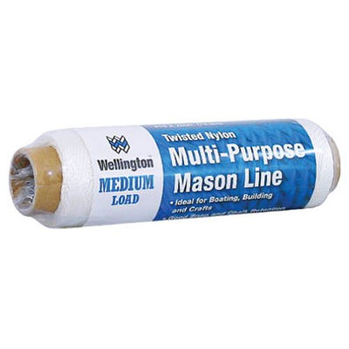 Wellington Nylon Seine Twine Twisted (Wellington Puritan 10482 Twisted Nylon Twine/Rope Multi-Purpose Mason Line Many uses Ideal For Boating, Building and Crafts)